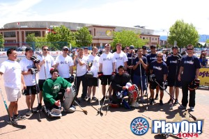 Kelowna 2013 Celebrity Game GroupShot2