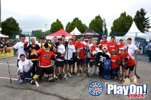 Vancouver 2013 Celeb Game Group Shot