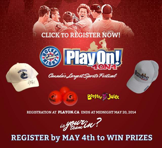 Register by May 4 to WIN